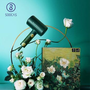 SOOCAS H5 Anion Hair Dryer 1800W Professional Blow Dryer Aluminum Alloy Powerful Electric Dryer EU Plug Vangogh 1