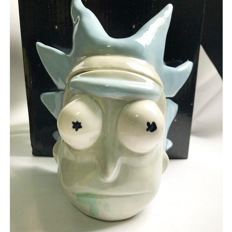 Rick and Morty Coffee Mug Cups Morty mug with Cover