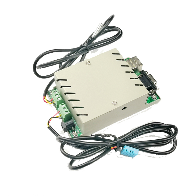 Wykrywanie czujnika temperatury i wilgotności nadajnik Ethernet RS232 aplikacja na telefon protokół do programu rozwojowego