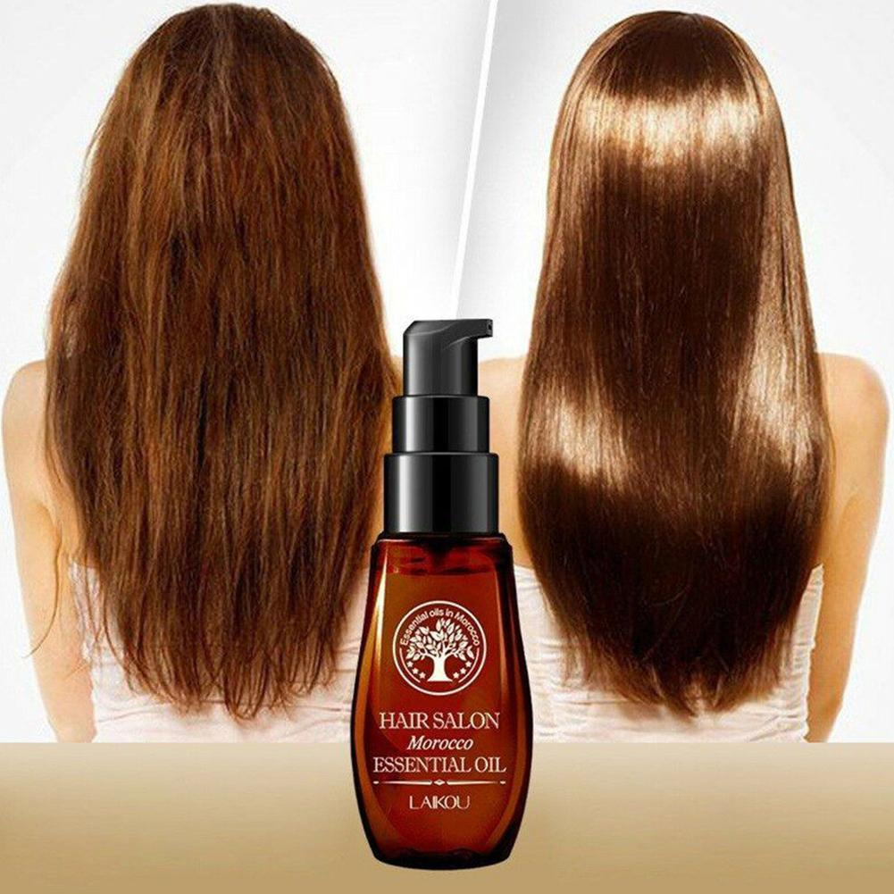 30ml Natural Morocco Oil Moisturizing Damaged Hair & Dry Professional Maintenance Repair Hair Mask Keratin Treatment image