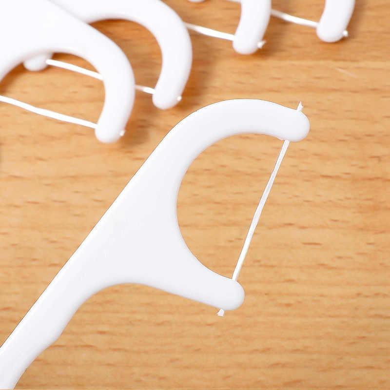 25 Buah/Bungkus Benang Perawatan Mulut Tusuk Gigi Oral Perawatan Gigi Cleaner Benang Gigi Flosser Sikat Gigi Pilihan Pedang Kesehatan & Kecantikan