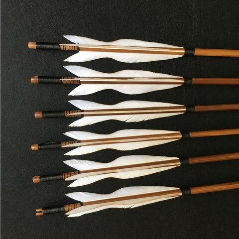 de bambu artesanal 5 polegadas turquia penas
