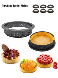 Mold-Ring Ring-Tartlet-Molds Cake-Mould Dessert-Mousse Kitchen-Baking-Tool Perforated