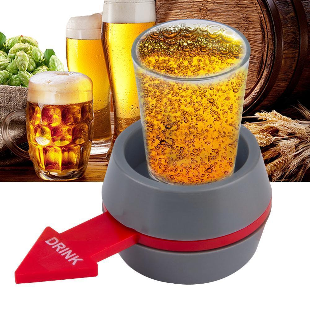 Pointer Turntable Wine Bar Entertainment Pointer Turntable Drink Wine Funny Table Game