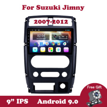 Android 9 Car Radio  For Suzuki Jimny 2007-2012 IPS Split Touchscreen GPS 2din Multimedia Player Navigation
