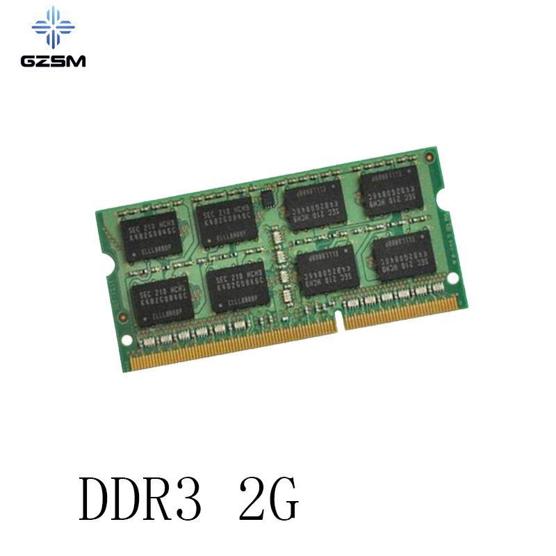GZSM Laptop Memory <font><b>DDR3</b></font> 2GB Memory Cards <font><b>1066MHz</b></font> 1333MHz 1600MHz Memory RAM 204pin for PC3 8500 10600 12800 image