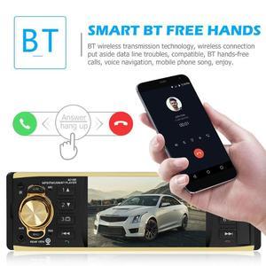 "Image 4 - VODOOL 4019B 1din Auto Radio 4.1 ""Bluetooth Autoradio Stereo MP5 Player AUX USB FM Backup Kamera Auto Audio Auto multimedia Player"