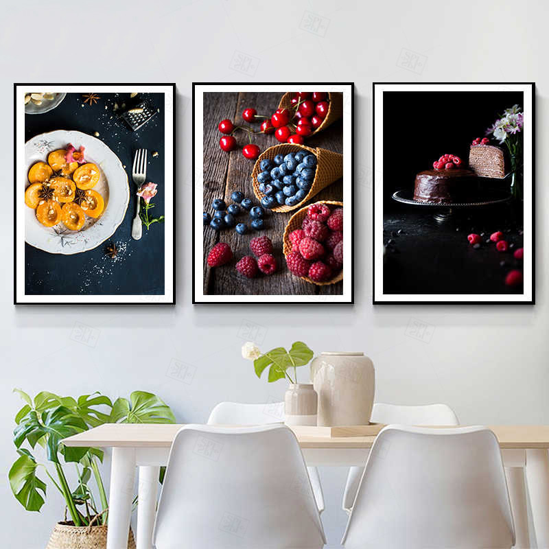 Best Offers For Wall Fruits Decor Ideas And Get Free Shipping A612