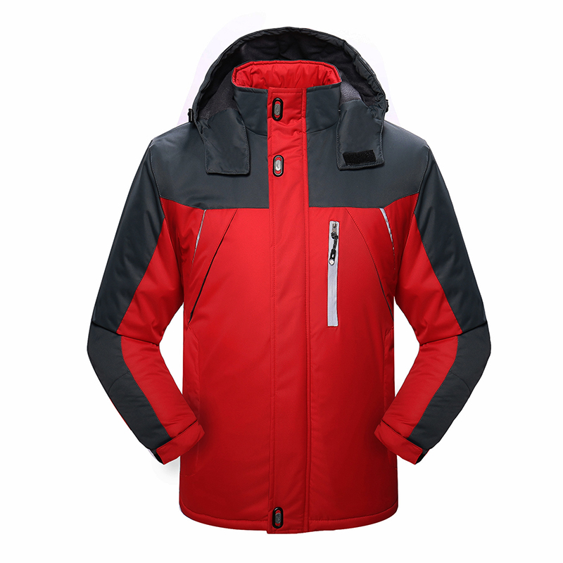 2019 hiver veste de Ski homme à capuche polaire chaud hommes Snowboard manteaux Sport Ski vêtements d'extérieur hommes vêtements coupe-vent en coton - 5