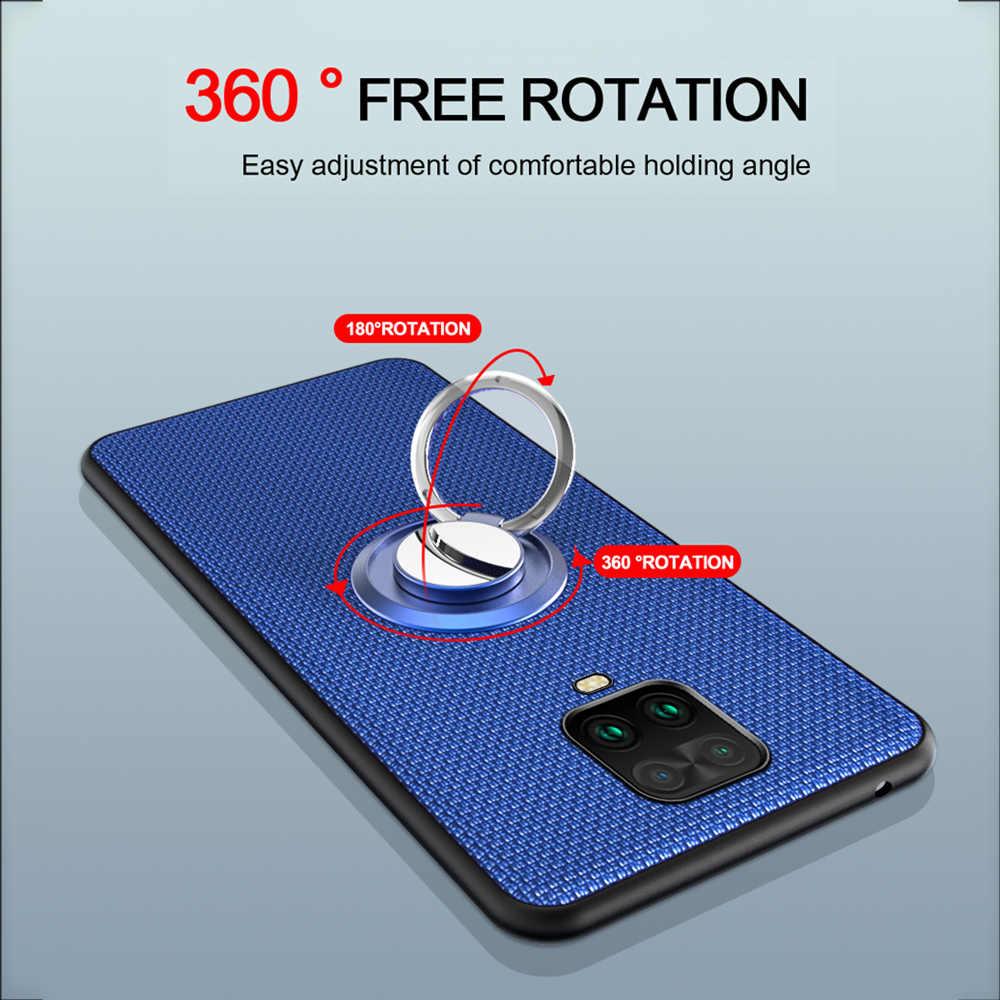 Dành Cho Xiaomi Redmi Note 9S 9 Pro Ốp Lưng Ô Tô Từ Đứng Nhẫn Ốp Lưng Chống Sốc Cho Xiaomi Mi Note 10 9T Redmi Note 8 PRO 8T 7 Ốp Lưng