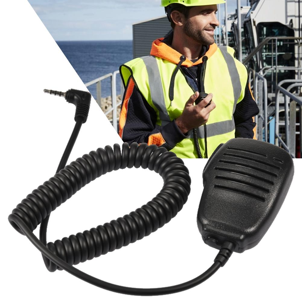 Rainproof Shoulder 3.5mm PTT Microphone PTT Remote Speaker For Yaesu / Vertex VX-1R / 2R 3R 5R 150 160 180 210 210A 2-Way Radio
