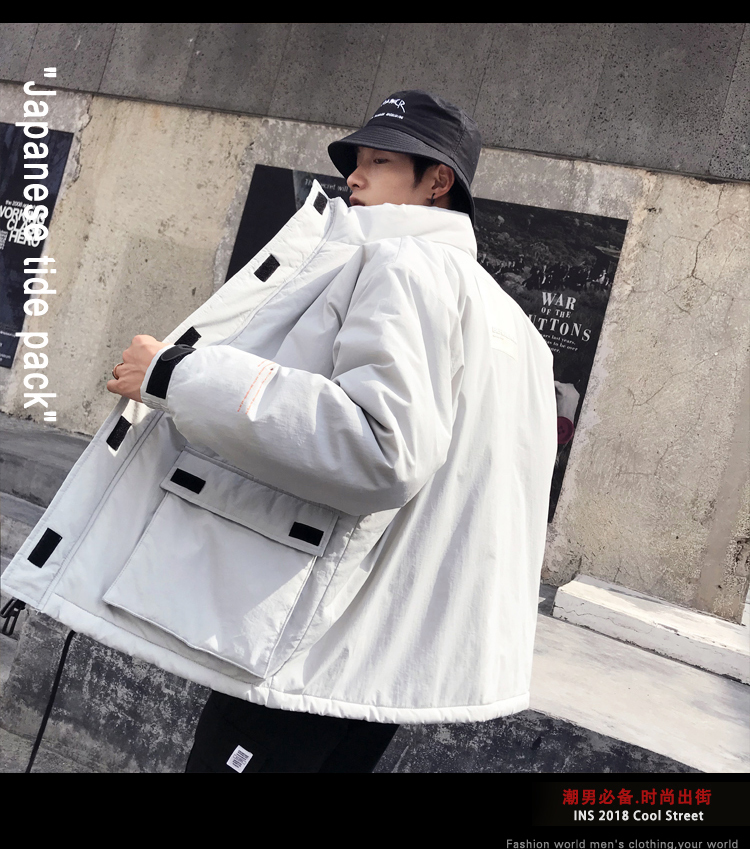 Men's Quality Student Winter Clothes Jacket Men Parka Thick Warm Outwear Korean Youth Streetwear Hip Hop Japan Style Harajuku 26