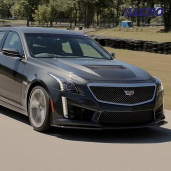 For Cadillac CTS Sedan 2014 2015 2016 2017 2018 2019 CTS-V Style Aero Carbon Fiber Front Hood Engine Vent Bonnet Cover Lid Scoop