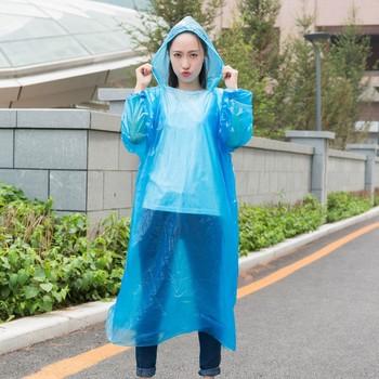 Новый год 2021 jednorazowe płaszcze przeciwdeszczowe dla dorosłych awaryjne wodoodporne płaszcze przeciwdeszczowe przezroczyste płaszcze przeciwdeszczowe jednorazowe piesze wycieczki Camping turystyka tanie i dobre opinie ISHOWTIENDA CN (pochodzenie) RainWear A raincoat Jednorazowe przeciwdeszczowa Single-osoby przeciwdeszczowa Poliester TOUR