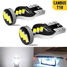 2x w5w lâmpadas led t10 canbus carro lado marcador luzes interior da lâmpada auto para honda civic accord crv caber jazz cidade hrv cr-v spoiler