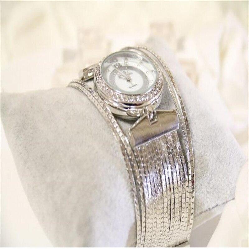2019 Fashion Women Watches! Austrian Crystal Rhinestone Watches Luxury Women Quicksand Dress Watch Bracelet Watch
