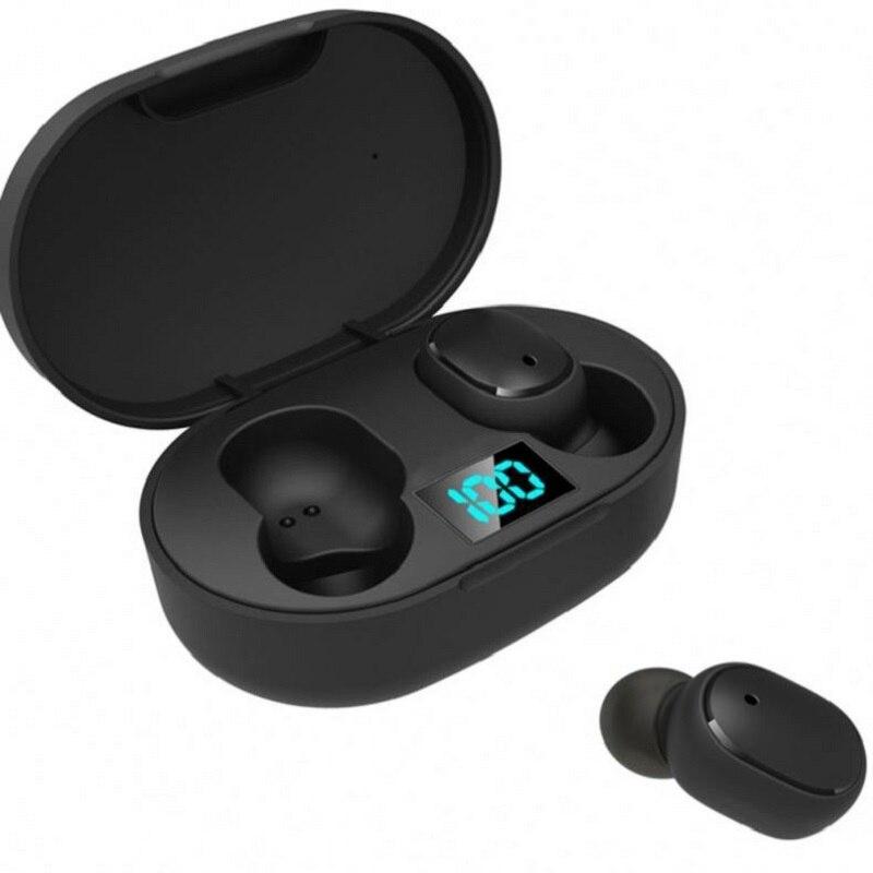 Новые трансграничные E6s Smart Digital Дисплей Bluetooth гарнитура Беспроводной для съемки в движении Sports Mini Bluetooth гарнитура стерео наушники-вкладыши