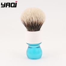 Yaqi 24mm Aqua Two Band Badger Hair Shaving Brush 24mm yaqi two band badger hair brushes for razor