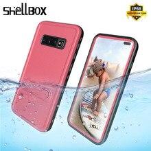Oryginalny wodoodporny pokrowiec do Samsung S8 S9 Plus sportu na świeżym powietrzu pływanie, odporna na wstrząsy etui do Samsung Galaxy S10 S9Plus Funda
