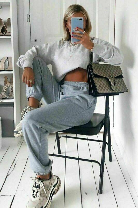 Women Loose Casual Sweatpants Ladies Tracksuit Jogger Dance Running Harem Long Pants Lounge Wear Gym Baggy Trousers