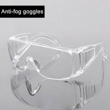Goggles Motorcycle-Equipment Vented Anti-Fog-Glasses Clear Protective-Eye Safety Anti-Pollution