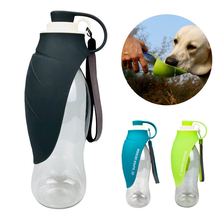 Get more info on the 580ml Pet Dog Water Bottle Portable Outdoor Sport Travel Pet Water Dispenser Silicone Leaf Dog Bottle For Puppy Cat Drinking