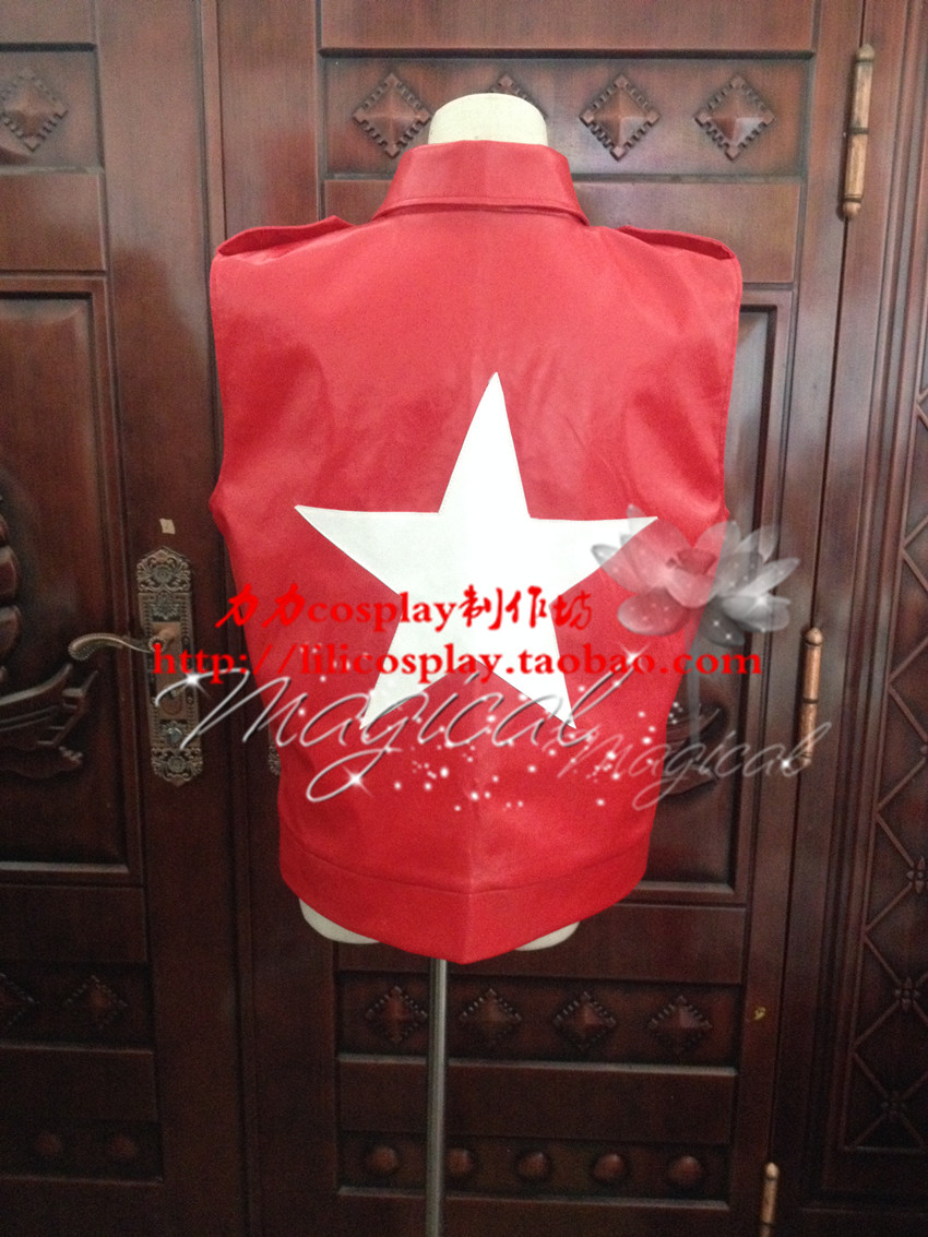 King Of Fighters Fatal Fury Terry Bogard Jacket Hat Cosplay Costume