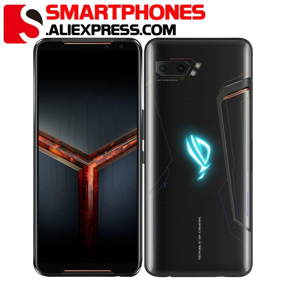 """Global Firmware Asus ROG Phone 2 8GB 128GB Gaming SmartPhone ROG Phone II ZS660KL 6.59"""" Snapdragon 855+ 6000mAh Mobile Phone(China)"""