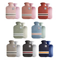 1L/2L Hot Water Bottle With Removable Knitted Cold-proof Washable Protective Case Hand Warmer Winter Outdoor Keep Warm Hot Sale