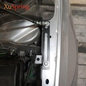 Image 4 - For Peugeot 308 T9 2013 2019 Car Bonnet Hood Support Hydraulic Rod Strut Bars Lift Spring Shock Bracket Car styling