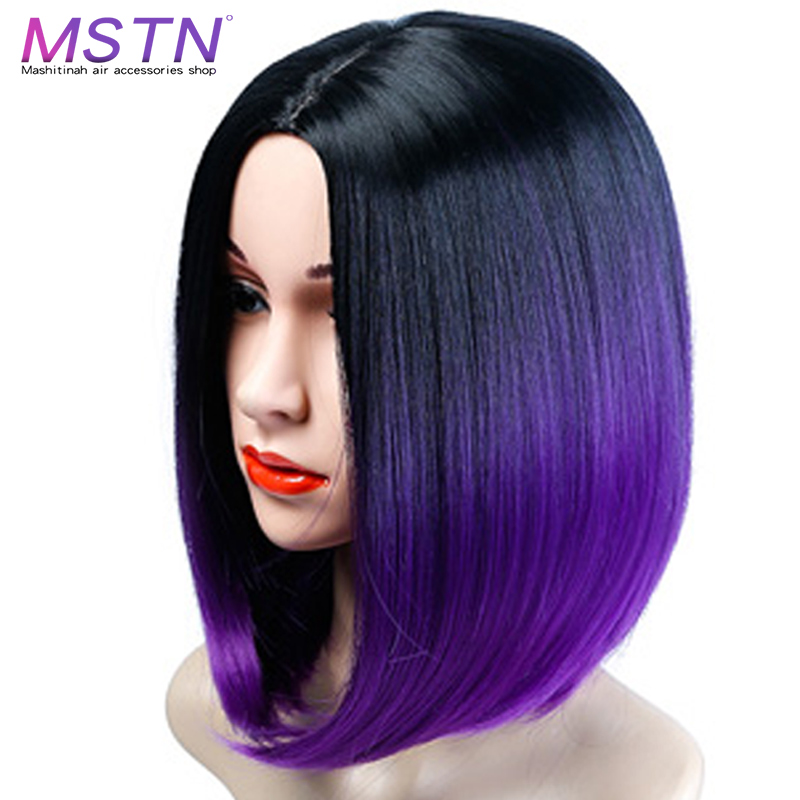 Purple Ombre Straight Hair Up To 70 Off Free Shipping