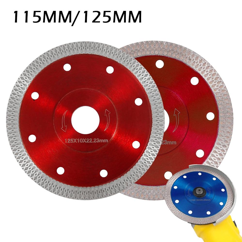 110mm Porcelain Tile Turbo Thin Diamond Dry Cut Blade Disc Wheel Angle Grinder