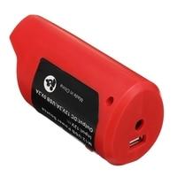Adaptador do carregador da fonte de alimentação 12 v para o revestimento aquecido 49 24 2310 48 59 1201 de milwaukee compatível com a bateria de lítio m12|-Tipo C Adaptador| |  -