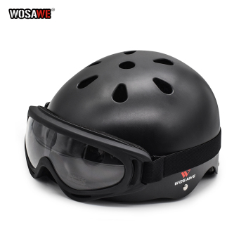 WOSAWE Motorcycle Helmet Cycling Safety Protect Helmet skating skateboard Outdoor Adult Children Protective Bicycle  Helmet high quality ski snowboard helmet pc eps skiing helmet for adult and kids snow helmet safety skateboard helmet