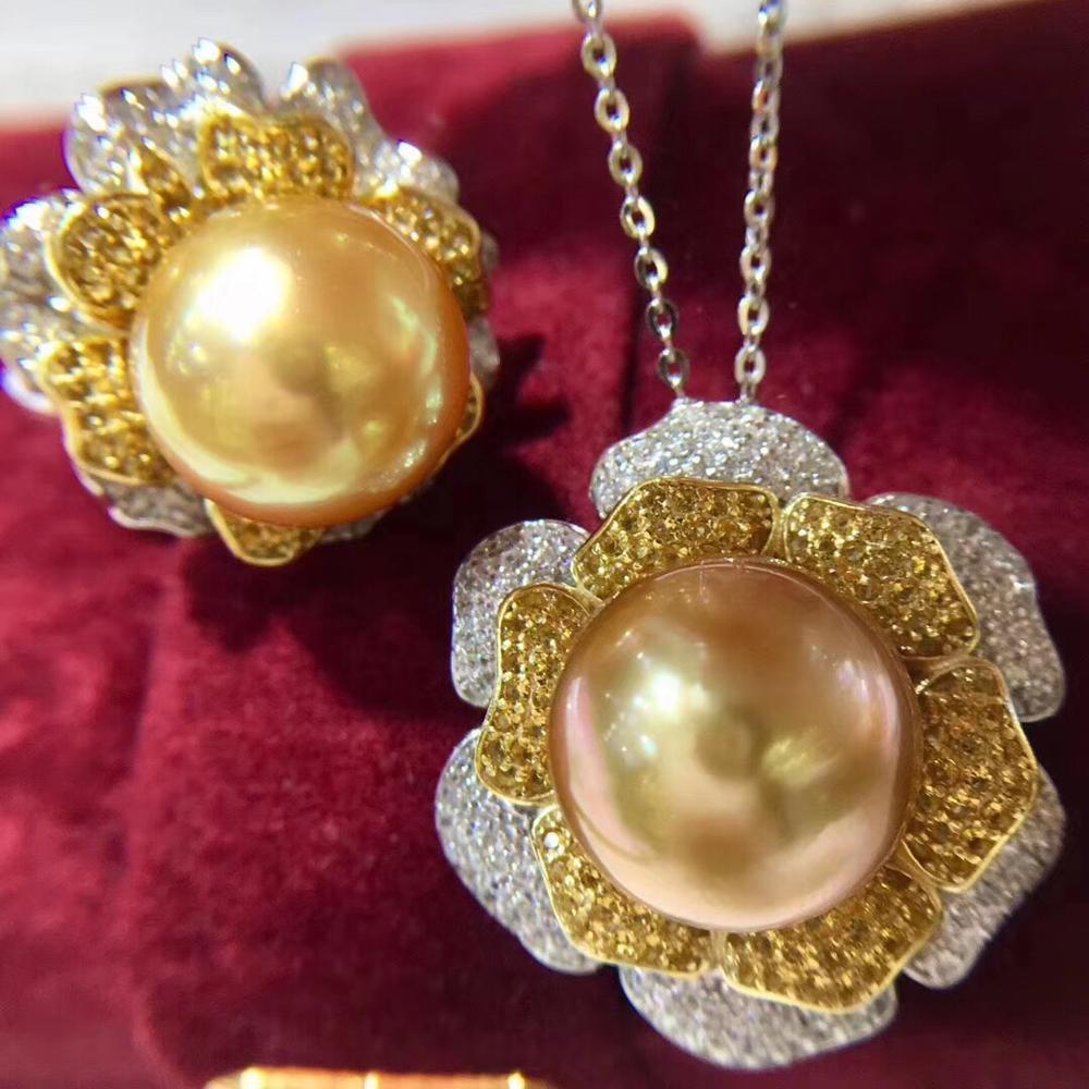 Fleur 925 bague en argent Sterling et boucles d'oreilles ensemble montures résultats magnifique ensemble de bijoux pièces accessoires pour femmes