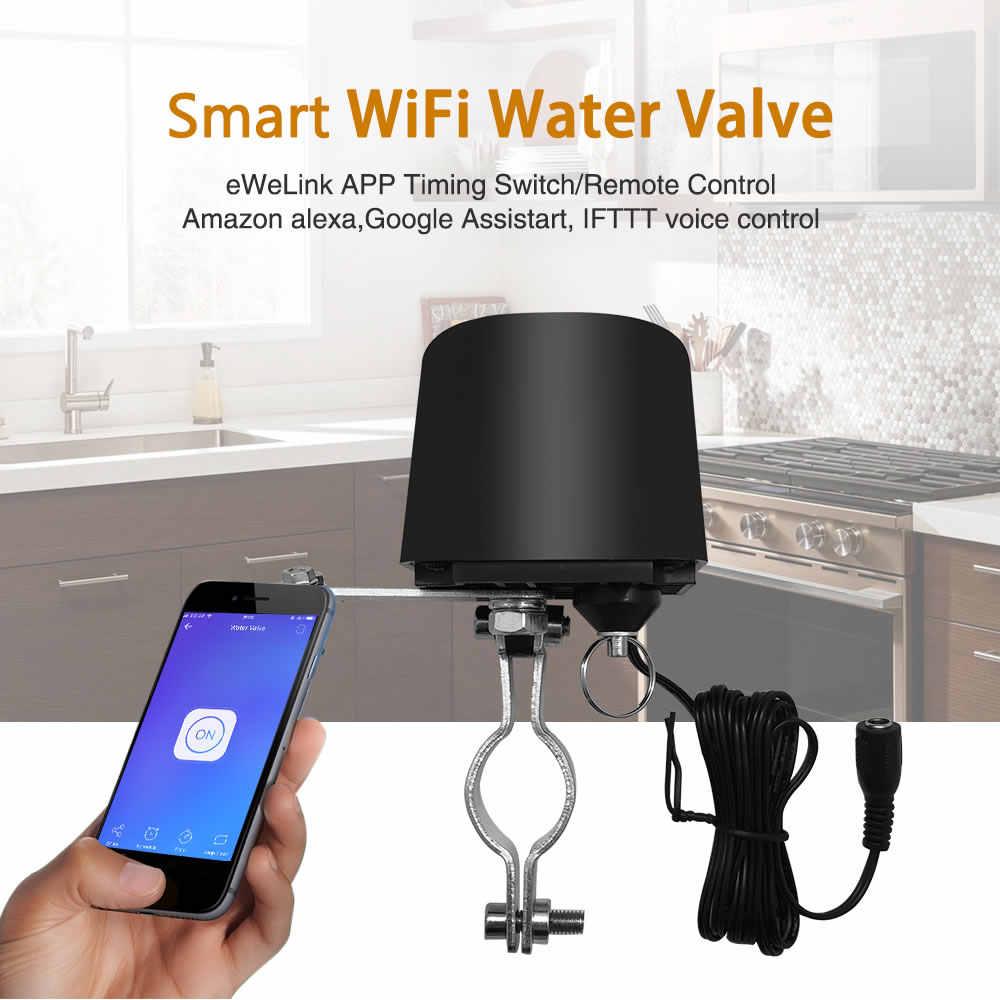 Interruptor WIFI inteligente tuya para la válvula de agua GW-RF sistema de automatización del hogar Válvula de control de agua de Gas funciona con Alexa y Google casa nueva