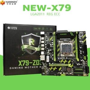 Image 3 - HUANAN ZHI X79 ZD3 Motherboard M.2 NVME MATX Mit Intel Xeon E5 2689 2,5 GHz CPU 4*16GB = 64GB DDR3 1600MHZ ECC/REG RAM