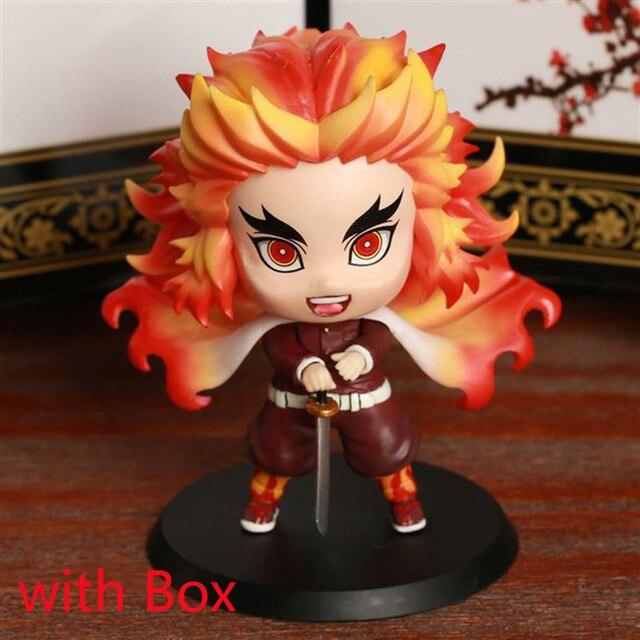 Kochou Shinobu Demon Slayer Kimetsu no Yaiba Q Ver PVC Figure New No Box 8cm