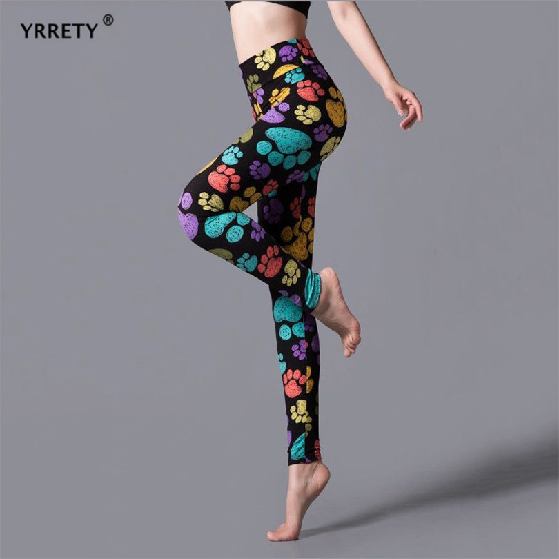 YRRETY Leggings Leopard Women Leopard Print Leggings Spring And Autumn High Elasticity Pant Leggins High Waist Elastic Legging