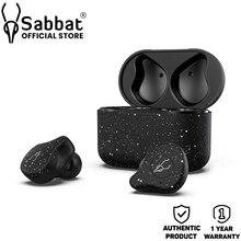 Sabbat E12 Ultra śnieżnobiałe słuchawki odporne na pot prawdziwe bezprzewodowe Stereo TWS Qualcomm Bluetooth wersja 5.0