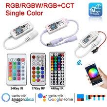 Magic Home 5V RGB Wifi Controller 24V RGBW Bluetooth RGB+CCT Pixel LED controller 12V For WS2812B WS2811 5050 3528 led strip