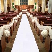 5 м 10 м ковер для свадебной вечеринки, украшение для прохода, нетканый коврик для одноразового использования в помещении, на открытом воздухе, для пляжных свадеб