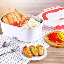 1.5L Food Container For Electric Lunch Box 220v Heating Rice Meat Convenient Household Office Outdoor Insulation Bento Box