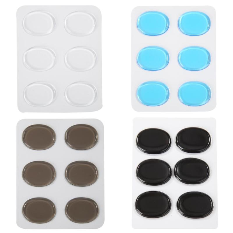 6pcs/set Silicone Snare Drum Mute Pads Silencer For Instrument Accessories