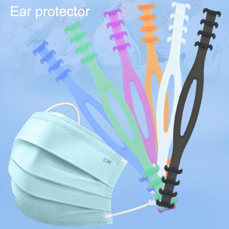 Face Masks Extension Button Extension Buckle Face Shield Earmuffle Artifact Extend Hook Rope Silicone Ear Protector Ear-pulling