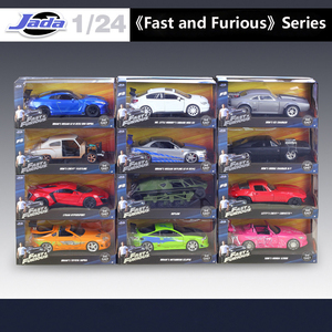 Image 1 - 1:24 Jada High Simulator Classic Metal Fast and Furious Alloy Diecast Toy Model Cars Toy For Children Birthday Gifts Collection