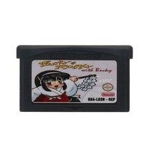 任天堂gbaビデオゲームカートリッジコンソールカードポッキー & ロッキー英語us版