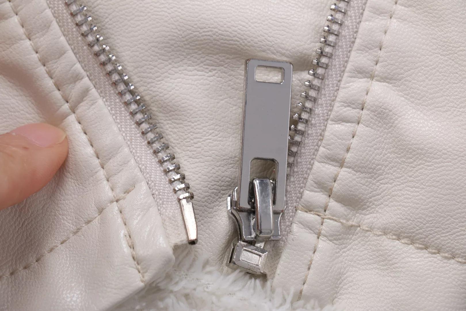 Куртка Авиатор из овчины укороченные кожаные куртки зимнее пальто