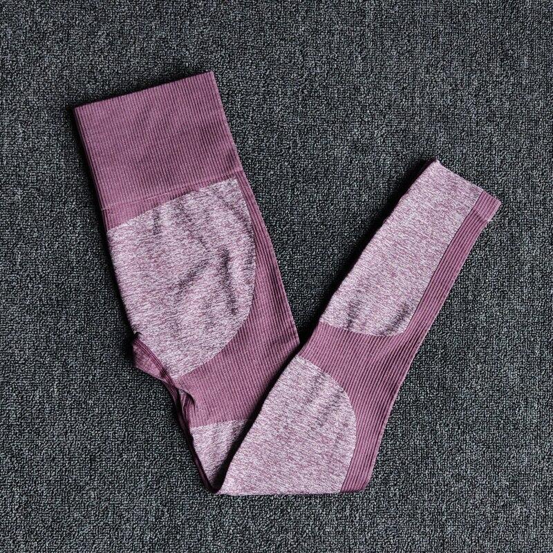 DarkPurple -2 -11 colors seamless yoga suit