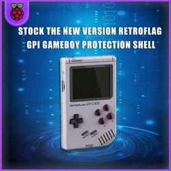 Оригинальный чехол Retroflag GPi Gameboy для Raspberry Pi Zero W с безопасным отключением
